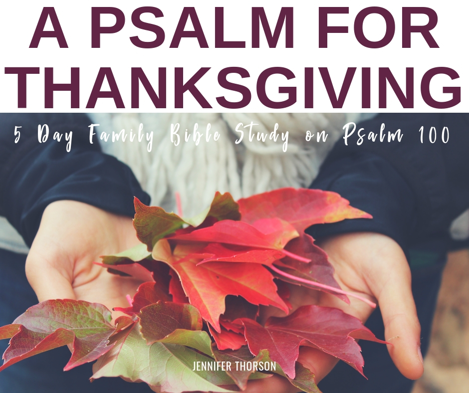 thanksgiving Bible study for kids and families