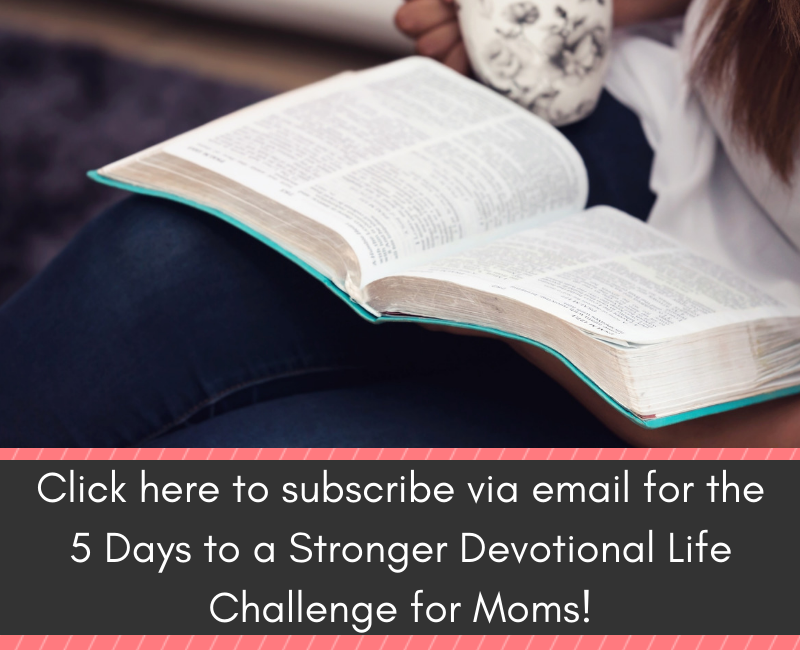 tips for a stronger devotional life email challenge