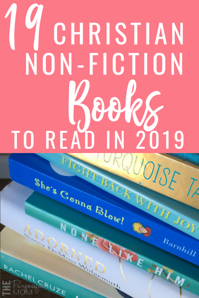 19 Christian non-fiction books to read in 2019