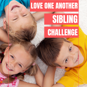Sibling Love One Another Challenge for Christian Families