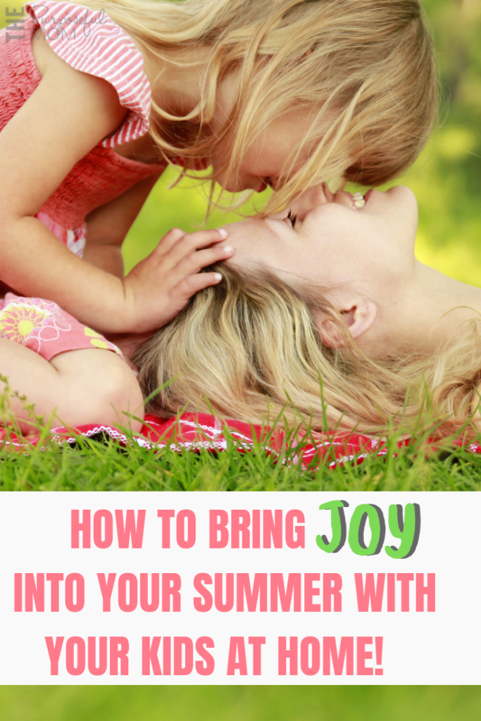 7 ways to be a more fun mom this summer