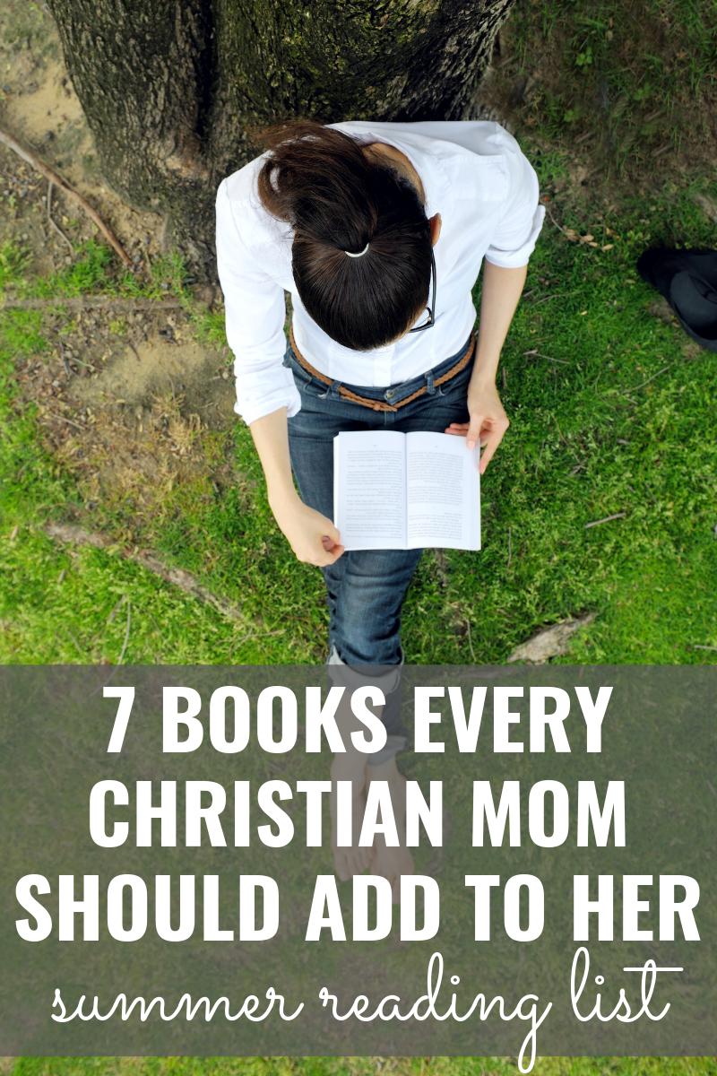 books for christian moms summer reading list