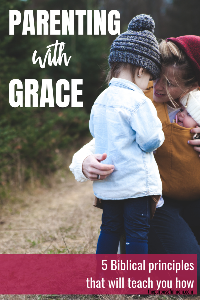 How to parent with grace according to the Bible